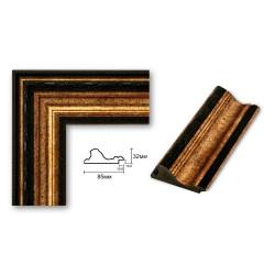 Brown plastic frame Art.No: 85-01-11 at 4,27 USD | Baghet.md