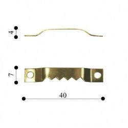 Фурнитура врезная для фоторамок и картин, номер 5 | Baghet.md