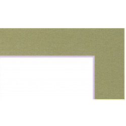 Cumpără Passepartout 7881 (Verde-pastel) pentru rame numai la Baghet.md